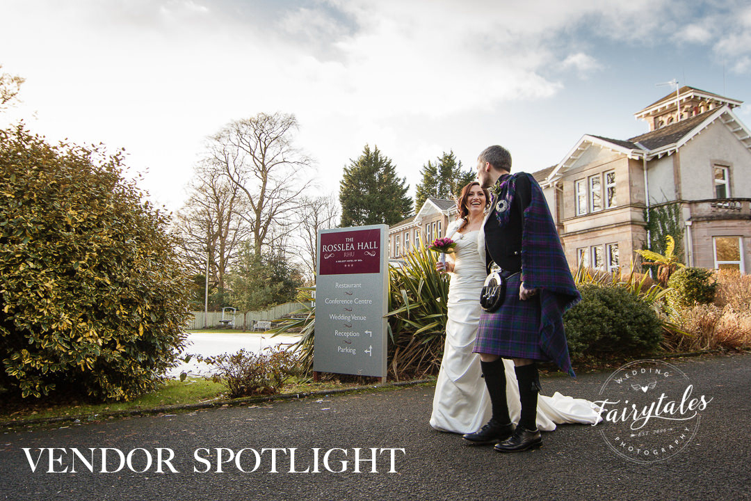 Rosslea Hall Rhu wedding