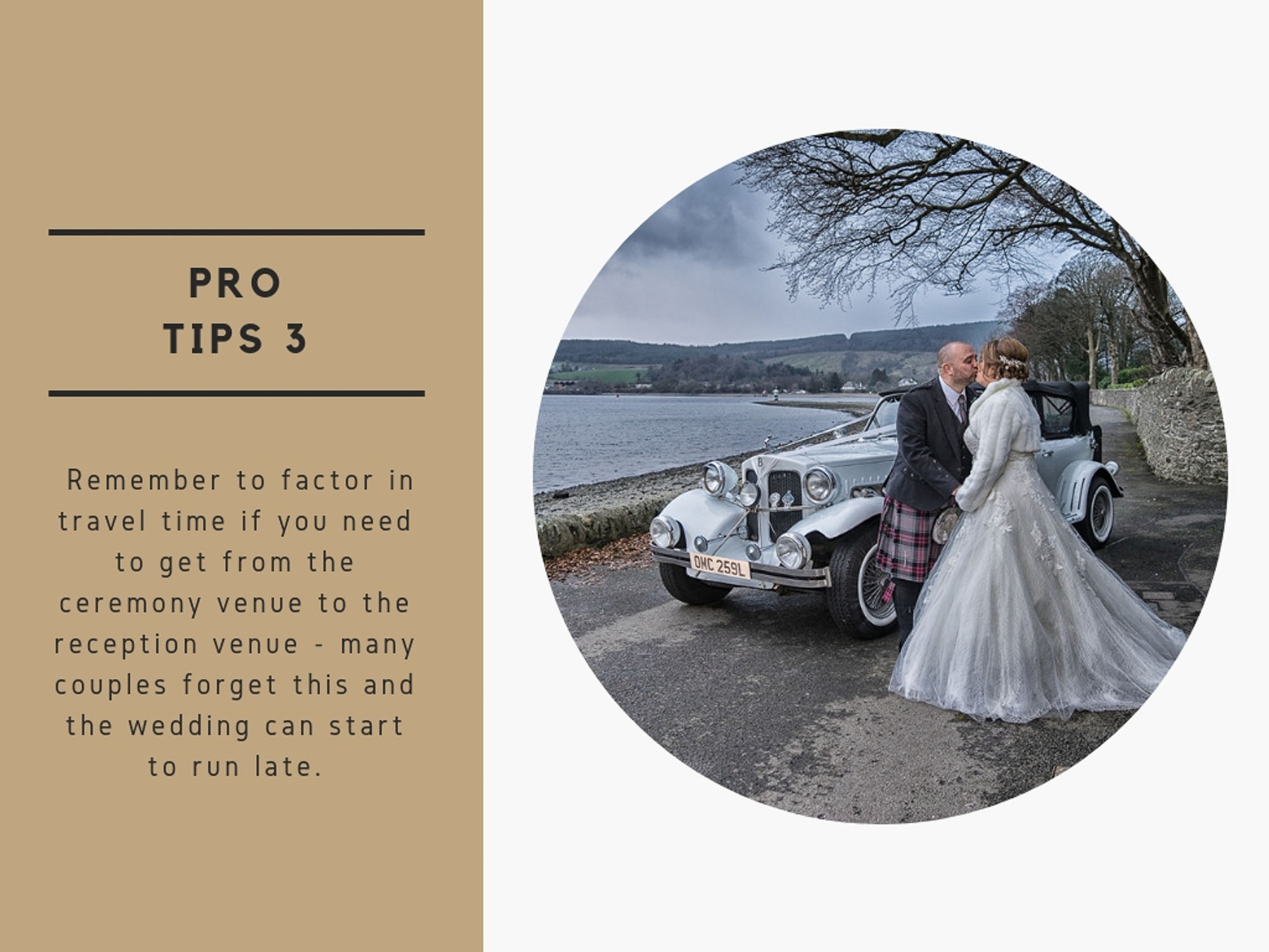 How To Plan The Perfect Scottish Wedding Timeline